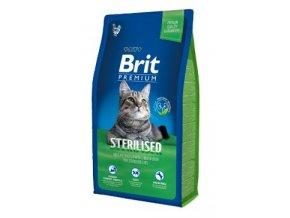 Brit Premium Cat Sterilised 8kg NEW