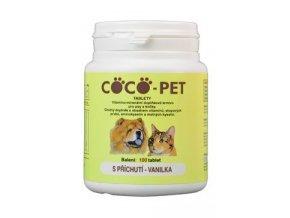 Coco Pet vanilka 100tbl