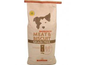 Magnusson Meat&Biscuit Grain Free 14kg+Doprava zdarma