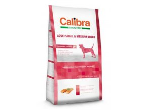 Calibra Dog GF Adult Medium & Small Salmon  12kg