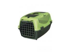 Přepravka CAPRI II. zelená/tm. zelená 55x36x35cm TR