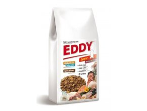 EDDY Junior Medium Breed polštářky s jehněčím 8kg