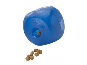 Hračka pes BUSTER Soft Mini Cube modrá 9cm