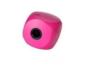 Hračka pes BUSTER Mini cube cherry 9cm, S