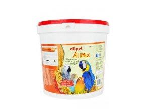 Krmivo pro Papoušky ALL MIX vaječná směs s ořechy 5kg