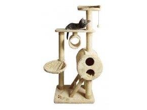 Odpočívadlo pro kočky MIJAS béžová 176cm TR