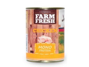 Farm Fresh Dog Monoprotein konzerva Chicken 400g