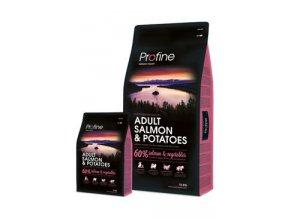 Profine NEW Dog Adult Salmon & Potatoes 15 kg