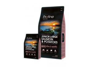Profine NEW Dog Junior Large Salmon & Potatoes 15 kg