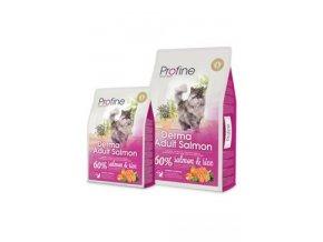 Profine NEW Cat Derma Adult Salmon 10 kg