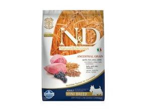 N&D LG DOG Adult Mini Lamb & Blueberry 7kg