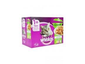 Whiskas kapsa Casserole mix v želé výběr 12x85g