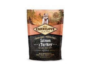 Carnilove Dog Salmon & Turkey for LB Puppies 1,5kg