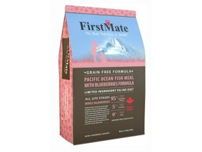 First Mate Cat Pacific Ocean Fish&Blueberries 4,54kg