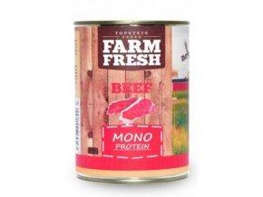 Farm Fresh Dog Monoprotein konzerva Beef 400g