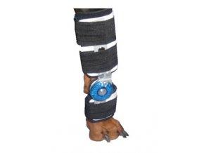 Ortéza na zápěstí s kloubem XL pravá