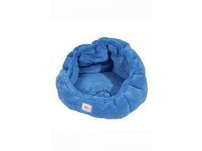 Pelech ADRIANA plyš hnízdečko 50cm Modrá A02