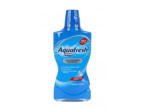 Voda ústní Aquafresh Fresh Mint 500ml