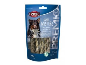 Trixie Premio SUSHI TWISTERS rybí copánky 60g TR