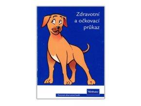 Očkovací a zdravotní průkaz Virbac s obalem pes 1ks