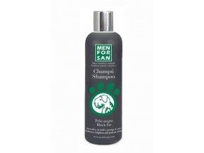 Menforsan Šampon pro zvýr. černé barvy pes 300ml