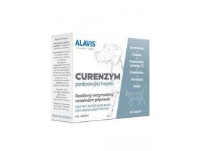 Alavis Enzymoterapie-Curenzym pro psy a kočky 20cps