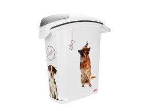 Curver kontejner na suché krmivo 23l 10kg pes