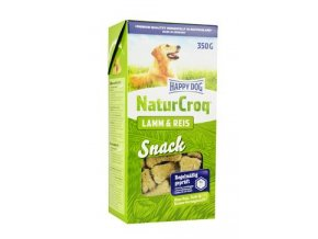 Happy Dog pochoutka Natur Croq Snack Lamm&Rice 350g