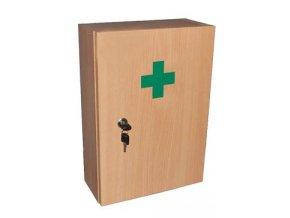 Lékárnička nástěn. dřevěná 42cm kompletní přírodní 1ks