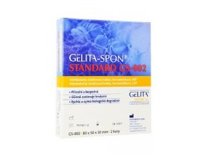 GelitaSpon Standard GS-002 80x50x10mm/2ks