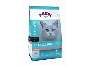 Arion Cat Original Sterilized Salmon 2kg