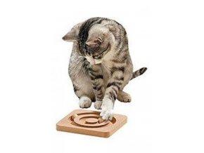 Hračka kočka interakt. hra Round about 19x19 KAR