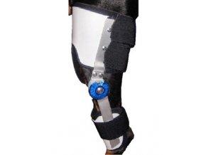 Ortéza kolenní s nastavitelným kloubem XXL levá