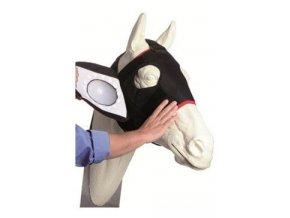 Chránič oka úplný perforovaný k masce EQUIVET L