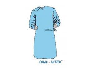 Plášť operační Classic L nesterilní modrý Dina 1ks