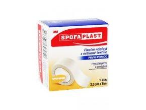 Náplast Spofaplast č.732-2,5cmx5m 3M fixační