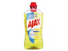 Čistič pro domácnost Ajax Boost soda a Lemon tekutý 1l