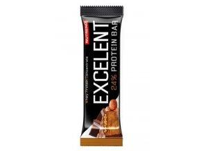 Nutrend Excelent Protein Bar Čokoláda s oříšky 40g