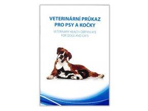 Očkovací průkaz pes/kočka Dyntec mezinárodní 1ks