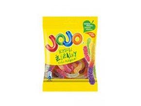 Cukrovinky bonbony JOJO Kyselé žížalky 80g