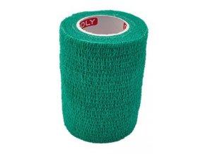 Obinadlo elast. CoPoly 7,5cm x 4,6m zelená