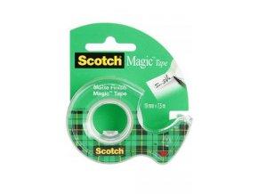 Lepící páska průhledná v zásobníku 19x7,5 Scotch