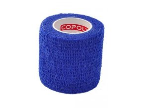 Obinadlo elast. CoPoly 5cm x 4,6m modrá