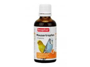 Beaphar pelichání ptáků Mausertropfen vit. 50ml