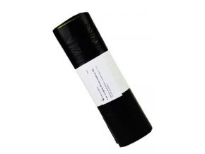 Pytle na odpadky 50l černé,zatahovací 20ks HenrySchein