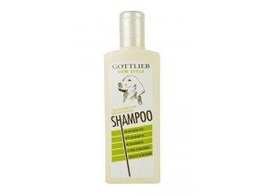 Gottlieb šampon s makadamovým olejem Vaječný 300ml pes