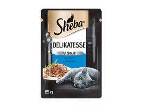 Sheba kapsa Delikatesse s tuňákem v želé 85g