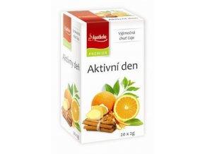 Čaj Apotheke Aktivní den 20 sacc