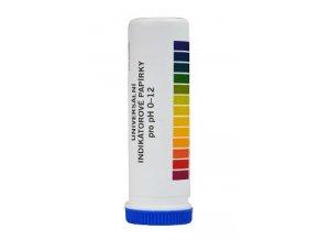 Diagnostické proužky pH 0-12 univerz.indik.papírek 100