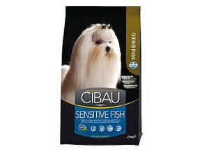 CIBAU Adult Sensitive Fish&Rice Mini 2,5kg